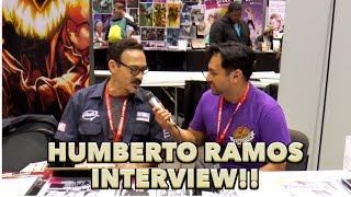 Humberto Ramos Interview At C2E2 2019