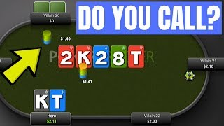 Huge Bluff by Aggressive Player (Do You Call?)