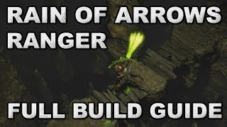 Path of Exile: ZiggyD's Rain of Arrows Ranger Full Build Guide - Top 40 1 Week Nemesis Race