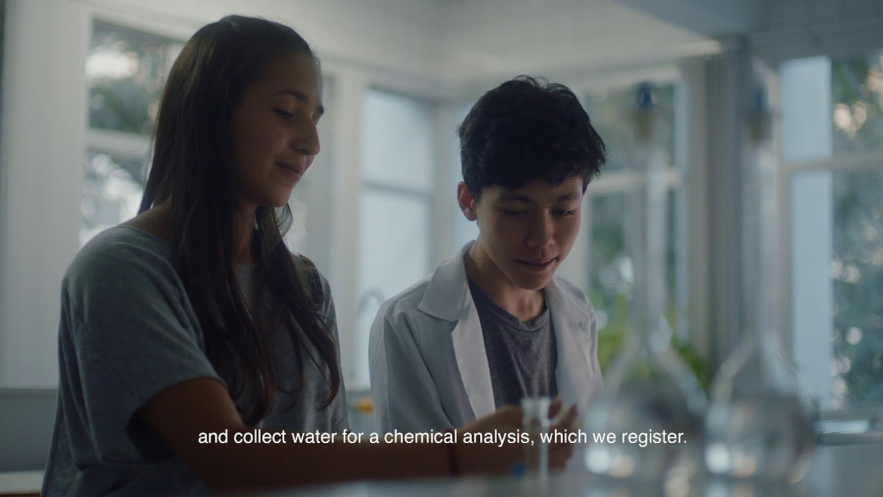 These students in São Paulo are using technology to purify river water