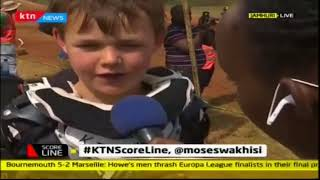 Children take part in Kenya National Motor Championship