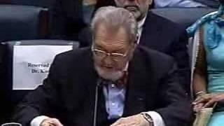 Hearing on Politicization Surgeon Generals: Koop's Testimony