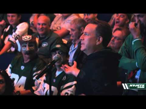 Jets Offer Fans Up-Close Access at Town Hall