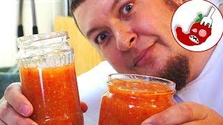 Остро сладкий соус чили с ананасом или почти что варенье из перца чили