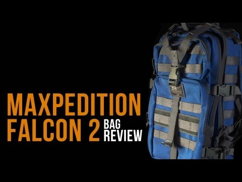 Maxpedition Falcon II Khaki-Foliage Assault Backpack Hydration 0513KF