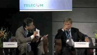 Carlos at Telecom 2009 panel on Cybersecurity Part II