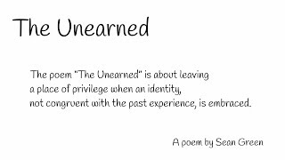 The Unearned