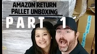 Amazon Customer Returns Unboxing. We Bought 24 Pallets for $8500