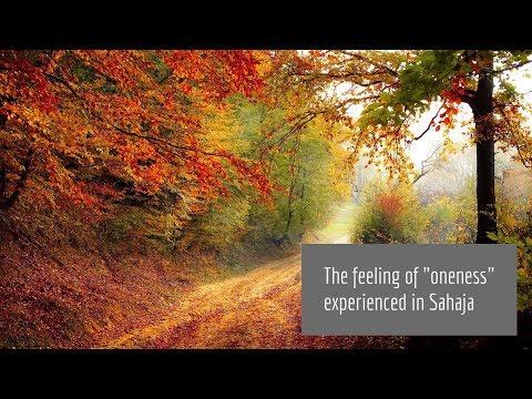 Feeling of oneness
