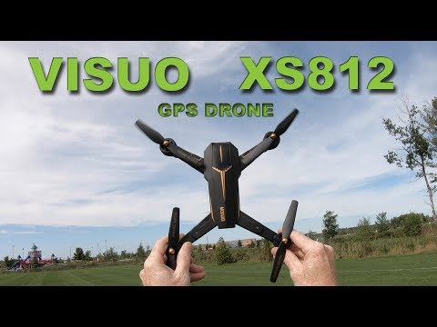 A GPS drone with plenty of features – The VISUO XS812 Review