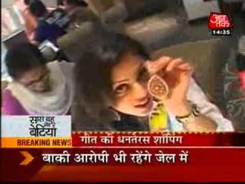 SBB - Drashti's Diwali Shopping - 24th October 2011