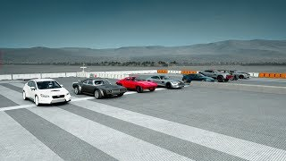 World's Greatest Drag Race! FATE of the FURIOUS Edition - Forza 7