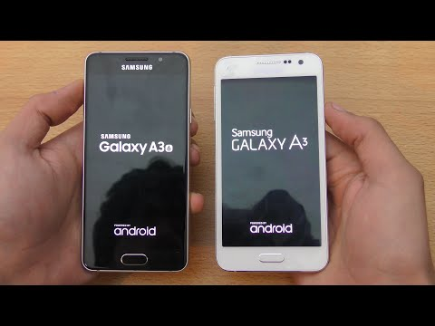 Samsung Galaxy A3 (2016) vs Galaxy A3 (2015) - Speed & Camera Test (4K)