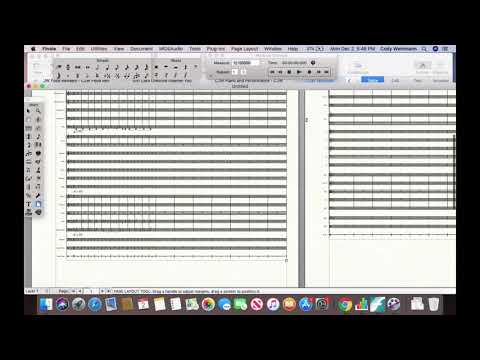 For all of you composers who need help with Finale, I teach you how to fix up your score pages so they are legible.