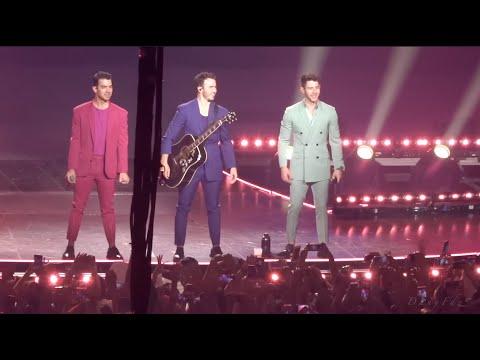 Jonas Brothers en Monterrey, Mexico - Happiness Begins Tour 2019