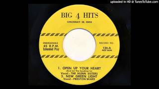 The Nunn Sisters - Open Up Your Heart (And Let The Sunshine In) (Big 4 Hits 126)