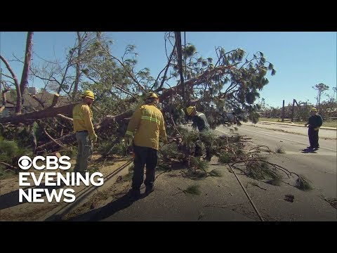 Florida residents still without power after Hurricane Michael