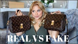 Louis Vuitton Pochette Metis $169 Vs $1850 REAL VS FAKE
