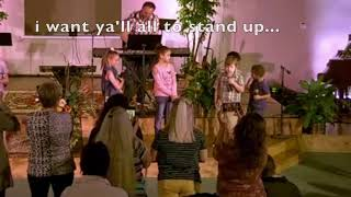 When Kids lead the worship service...