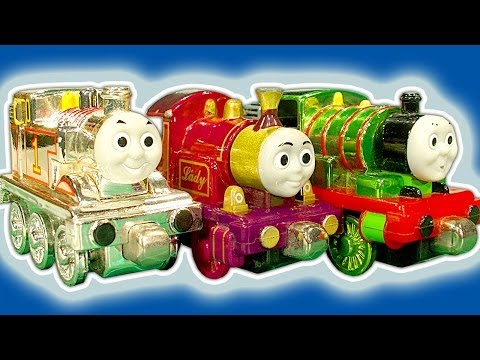 Thomas The Tank Amazing ERTL & Rare Take Along Metallic Collectable Toy Trains