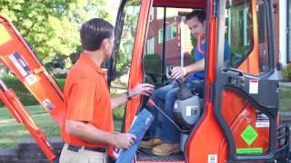 Basic Operation of the Kubota Mini Excavator
