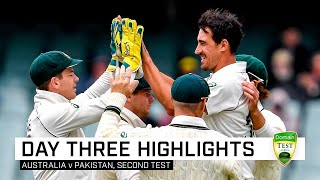 Aussies close in on clean sweep after Yasir century | Second Domain Test