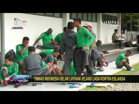 Timnas Indonesia Gelar Latihan Jelang Laga Kontra Islandia