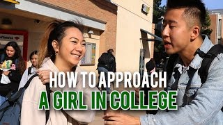 How to Approach a Girl in College