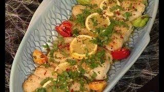 مطبخ منال العالم xxx فيليه السمك بصلصة الليمون