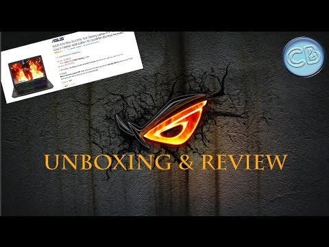 "ASUS ROG Strix GL553VD 15.6"" Gaming Laptop - UNBOXING & REVIEW + GAMEPLAY!"