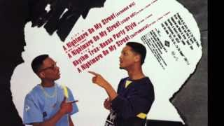 DJ Jazzy Jeff & The Fresh Prince ‎- A Nightmare On My Street