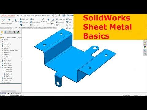 SolidWorks Sheet metal Basics