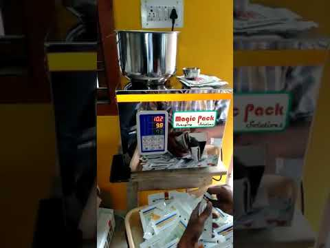 Vegetable Seeds Packing Machine 1 gms to 100gms