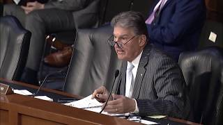 Sen. Manchin questions Barbara M. Barrett, Secretary Of The Air Force, in Senate Armed Services