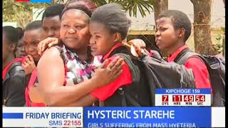 Starehe Girls Centre students suffered mass hysteria