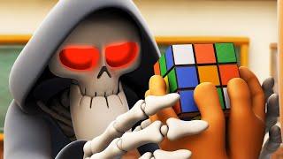 Spookiz | Решите головоломку - Кубик Рубика | Забавный муль Videos For Kids