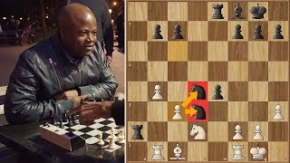 Grandmaster Maurice Ashley Plays Willson the Chess Hustler in NYC Park