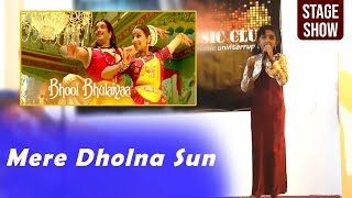Mere Dholna Sun Hindi Song Live Performance   - YouTube