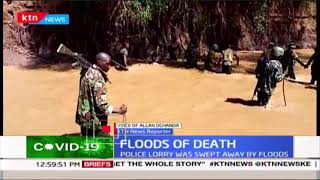 Bodies of 2 out of 5 officers that perished from raging floods in Baringo still unaccounted for