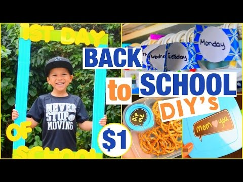 Dollar Store Back to School DIY Projects