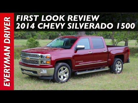 Truck Review: 2014 Chevrolet Silverado 1500 on Everyman Driver