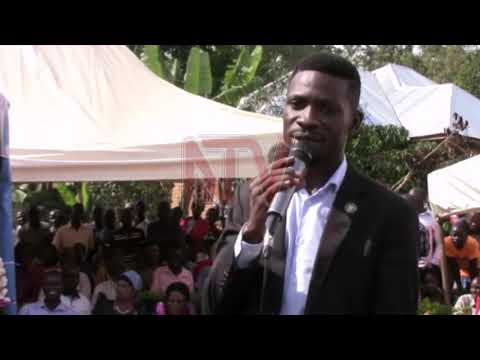 EMIKISA GIKUTAMBULIREKO: Ab'e Gomba basabidde Bobi Wine
