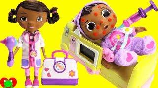Baby Cece Gets Chicken Pox Doc McStuffins Doctor's Visit