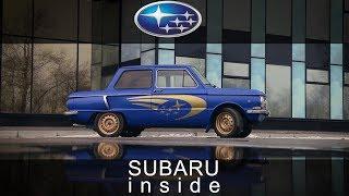 Crazy Russian ZAZ with  SUBARU engine inside