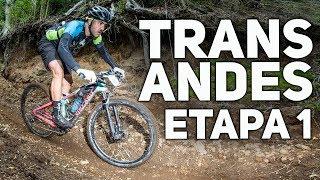 ETAPA 1 TRANS ANDES COM MUITO SINGLE TRACK   Canal de Bike