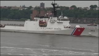 Parade of Ships at New York Fleet Week 2017