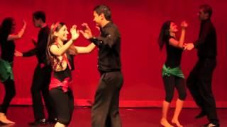 رقص زیبای ايرانی دانشجویان دانشگاه میشیگان در آمریکا