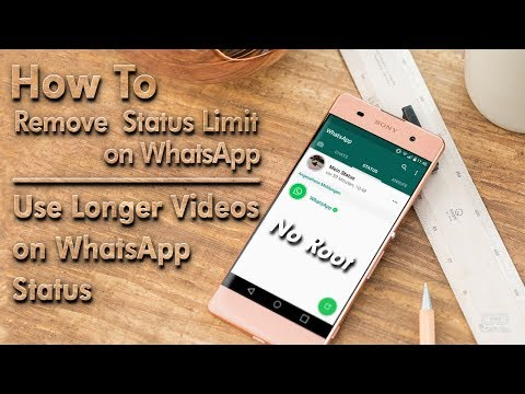 How To Upload Full Video To WhatsApp Status? [Without Root