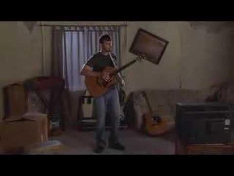 Percussive acoustic guitar