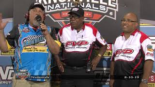 Doug Clark is recognized for his 37th and Final Knoxville Nationals!